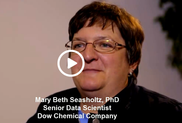 Mary Beth Seasholtz, PHD- Senior Data Scientist Dow Chemical Company